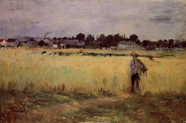 In the Wheat Fields at Gennevilliers